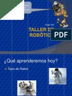 Clase 02 Taller de Robotica