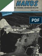 All Hands Naval Bulletin - Jul 1945