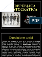 REPÚBLICA ARISTOCRÁTICA