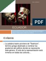El Teatro en El Ecuador