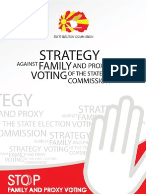 Strategy Against Proxy and Family Voting | Democracy
