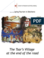 The Tsar's village at the end of the road