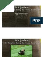 God's Kingdom During the Second-Temple Era (pptx presentation)