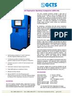 Especificaciones - GCTS Compact Ad Or Giratorio (GRC-20)