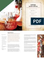 Bitters Recipe Sampler by Brad Thomas Parsons