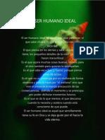 El Ser Humano Ideal