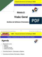 Módulo - 01 - Conceitos da Engenharia de Software (Foco em Análise OO)