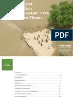 Ict in 2010 Pakistan Floods