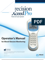 Precision Xceed Pro Operator's Manual