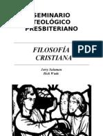 FILOSOFÍA CRISTIANA
