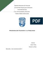 Programacion Televisiva y La Public Id Ad 1