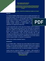 Las Empresas Familiares Conceptos Generales Sobre Su Futuro[1]