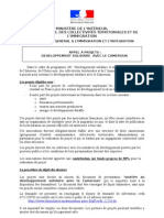 Appel a Projets Cameroun