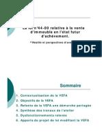 présentation-VEFA-2011