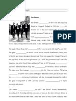 Beatles Worksheet