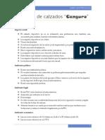 Empresa de Calzados Mision Vision Objetivos Matriz Foda
