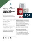 1.2-Data Sheet SPSR Bocina Con Estrobo