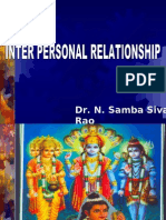 Inter Personnel Relationship