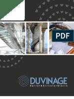 Duvinage Spiral Circular Stairs Catalog