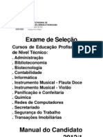 Exame2012-1 Manual Candidato