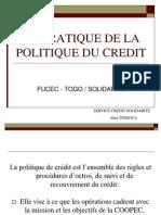 Politik Credit