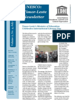 Newsletter UNESCO Timor-Leste #4
