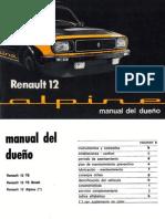 Renault 12 Alpine 1977