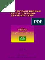 Secrets Of Individualpreneurship - Building A Sustainable Self-Reliant Career