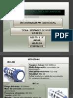 Sensores de Nivel MARCAS
