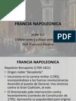 FRANCIA NAPOLEONICA / REVOLUCION DE INDEPENDENCIA LATINOAMERICA
