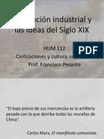REVOLUCION INDUSTRIAL Y LAS IDEAS DEL SIGLO XIX