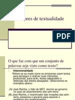 Aula 04 - Fatores de Textualidade