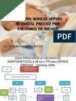 Manejo Sepsis Neonatal Precoz
