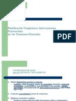 Planificacion Terapeutica e Intervenciones Psicosociales en Los Trastornos Disociales