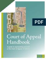 Court of Appeal Handbook (BRH 18Jan2010)