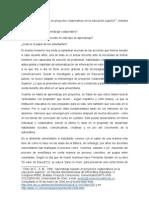 1. Aprendizaje basado en proyectos colaborativos, Vélez
