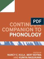Continuum Companion Phonology