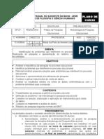 PPE-Plano de Curso 2006 II