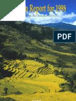 Program Report for 1998