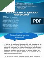 Etica Aplicada Al Ejercicio Profesionar