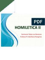 HOMILETICA II