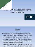 Literatura Del Descubrimiento y La Conquista