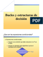 Bucles y Estructuras de Decision
