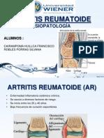 EXPOSICION ARTRITIS REUMATOIDE