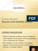 Molson Brewing Company