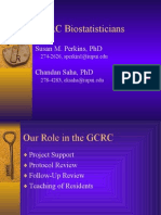 Bio Statistics Core