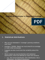 Dendro Statistics