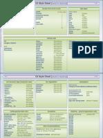 C# Style Sheet v1.0