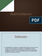 Automutilación