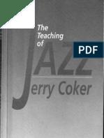 the Teaching of Jazz 1 Jerry Coker